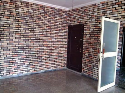 antique bricks done on interior walls