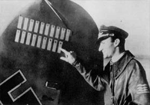 Luftwaffe ace Wilhelm Spies, KIA 27 January 1942 worldwartwo.filminspector.com