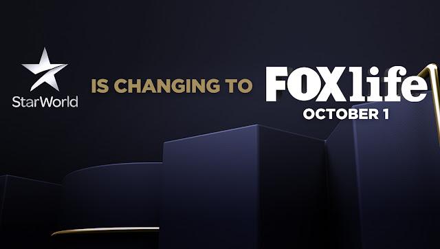 Star World Tukar kepada FOX Life