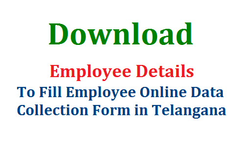 Download Employee Details Submitted Previously at CFMS HRMS @http://fdhrms.cgg.gov.in | How to Download Govt Employee Details to fill Online Data Collection Form in Telangana Click here | Filling up Employees Data Collectin Form Online to submit at STO Office by 20.02.2017 Download Previous Employee Details from Official Website of CFMS HRMS @Download Employee Details Submitted Previously at CFMS HRMS @http://fdhrms.cgg.gov.in download-employee-details-submitted-hrms-cfms-fdhrms.cgg.gov.in