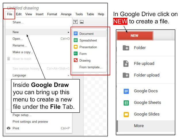 Find and Open Google Drive and Google Draw | Digital Literacy