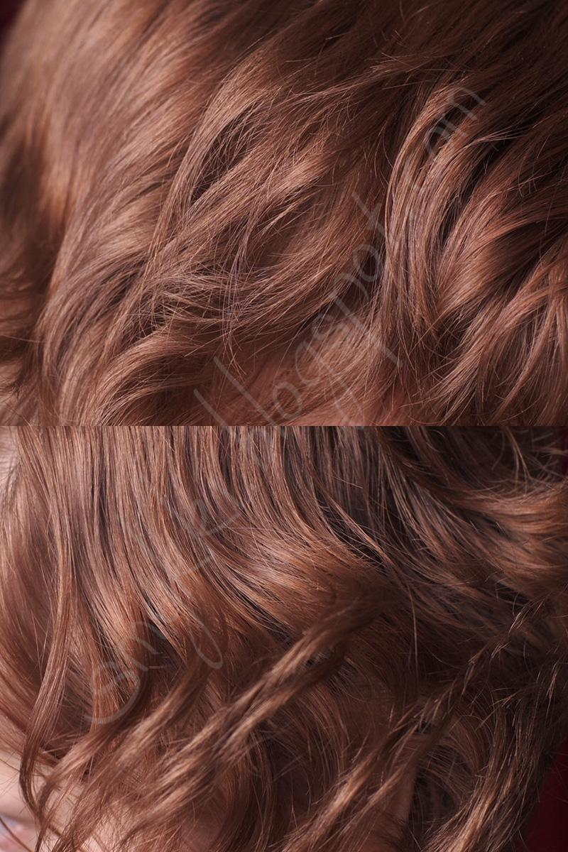 kiiltoa hiuksiin ilman väriä