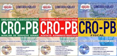 Apostila Concurso CRO/PB - Conselho Regional de Odontologia PB
