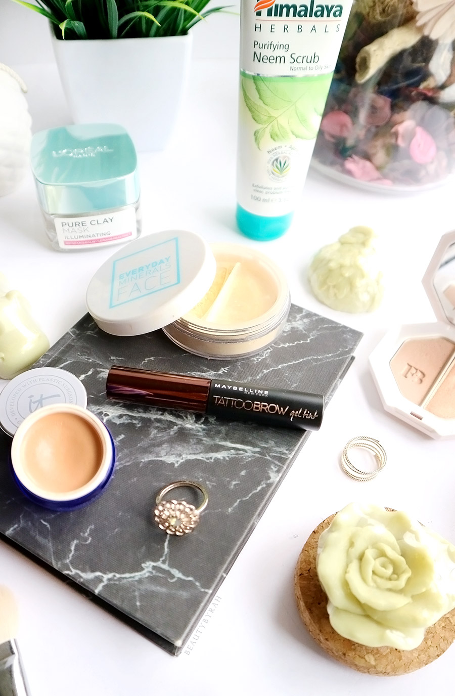 Maybelline Tattoo Brow Gel Tint and IT Cosmetics Byebye Undereye Corrector Review