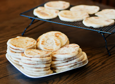 You might need to add more flour or water Arabian Pita Bread Recipe