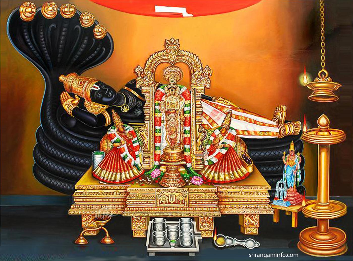 శ్రీ రంగనాథ క్షేత్రాలు - 4 ఆధ్యాత్మికం, శ్రీరామభట్ల ఆదిత్య