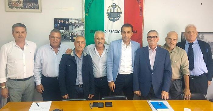 REGGIO CALABRIA. Giovanni Nucera incontra i rappresentanti territoriali dell'Anmil
