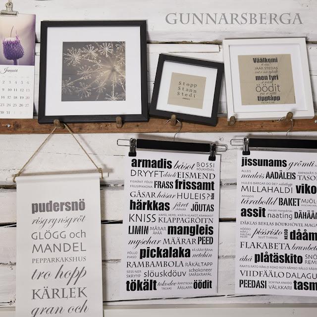 dialekttavlor dialektposters dialekt österbotten gunnarsberga