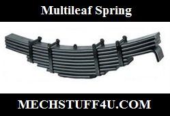 Multileaf spring