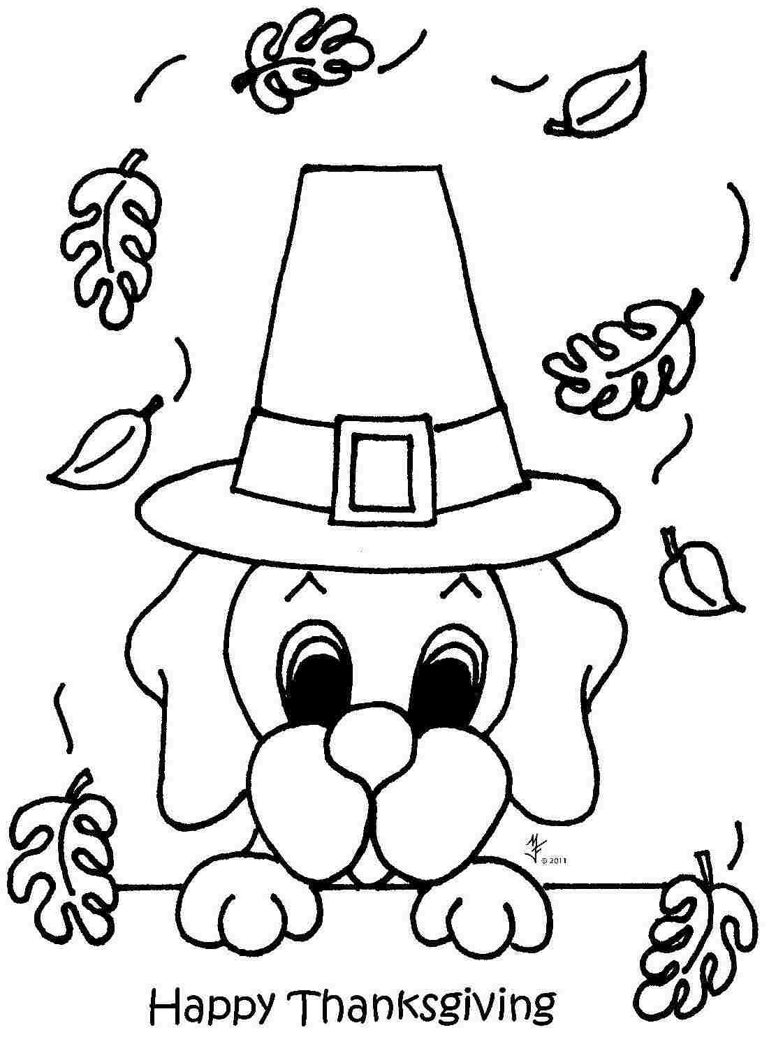 thanksgiving and coloring pages - photo#37