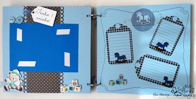 livro de mensagens com fotos personalizado scrapbooking scrap