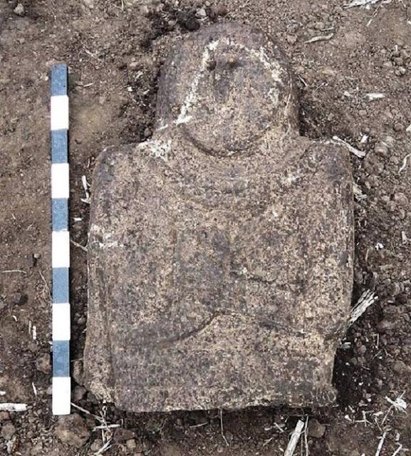 Scythian stele found in Ukraine