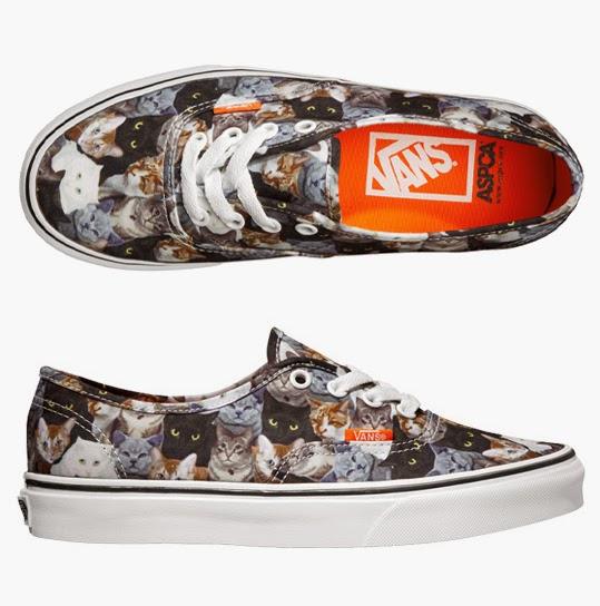 4742b44a6bd Vans. Är totalt förälskad i dessa skor från VANS. Som ni ser så är det  katter på trycket ...