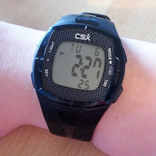 CSX C536X Heart Rate Monitor Watch