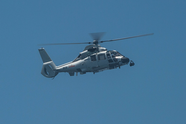 Chinese People's Liberation Army Navy Harbin Z-9C Helicopter pic