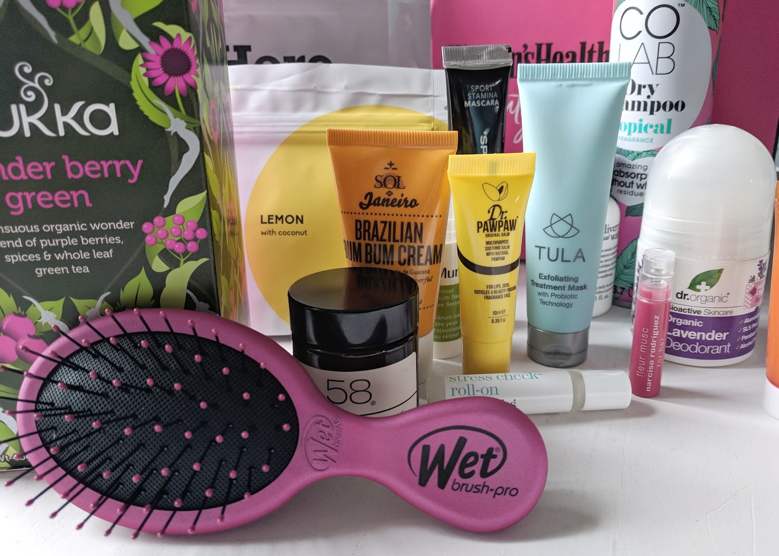 Women's Health latest in beauty box