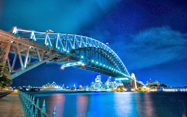Foto van de Sydney Harbour Bridge
