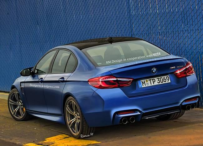 2018 BMW M5 Rendering