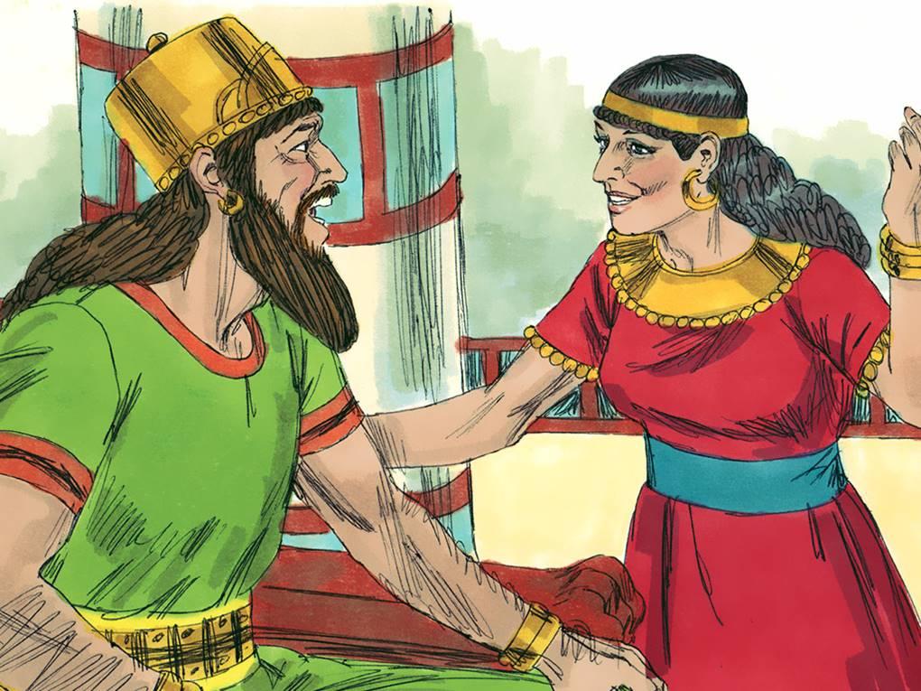 Queen Jezebel And King Ahab