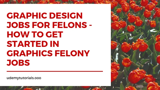 Graphic Design Jobs for Felons - How to Get Started in Graphics Felony Jobs