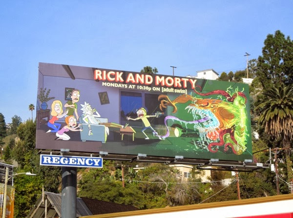 Rick and Morty season 1 billboard