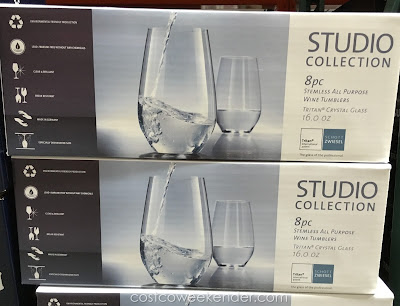 Costco 210185 - Schott Zwiesel Stemless All Purpose Wine Tumblers - great for any wine connoisseur