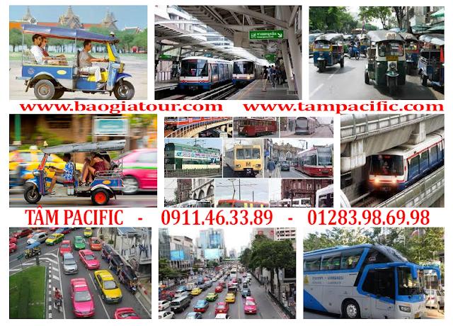Du Lịch Thái Lan Trong Tầm Tay - Phần 6 - Danh sách 7 loại phương tiện đi lại ở Bangkok