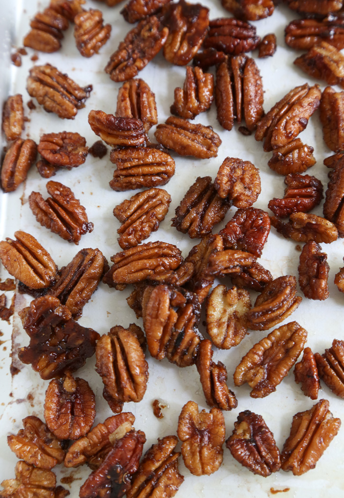 Gift This! Five Spice Candied Pecans | Sprinkle Bakes