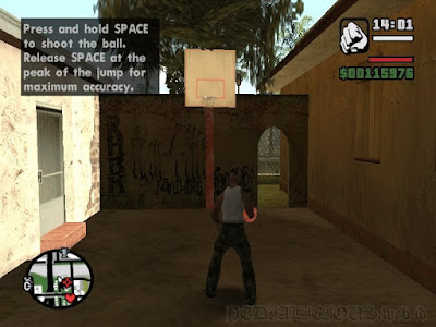 GTA San Andreas basketball rumah Sweet