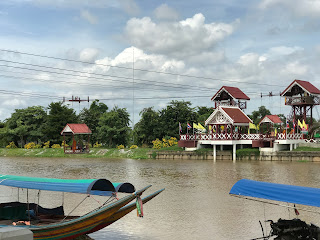 river cable car, ayutthaya