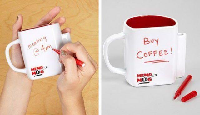 Taza de café creativa