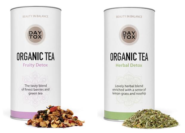 Apúntate a la moda del teatox con las infusiones DAYTOX Organic Tea