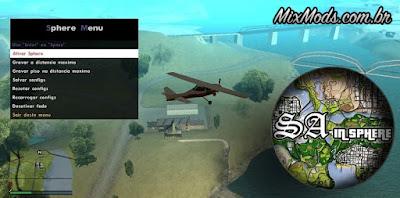 SA in Sphere GTA SA mod