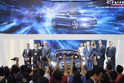 Honda thành công vang dội tại Vietnam MotorShow 2016