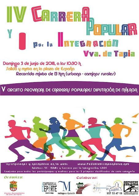 IV Carrera por la Integración Villanueva de Tapia