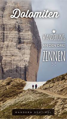 Rundtour Drei Zinnen - Dreizinnenhütte | Wanderung Sextner Dolomiten | Wandern Südtirol | Tourenbericht Tre Cime di Lavaredo | GPS-Track