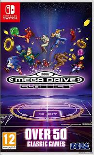 SEGA Mega Drive Classics Switch XCI NSP