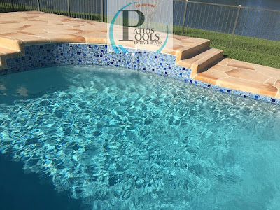 #decorativeconcrete #decorativeoverlay #concrete #pooldeck