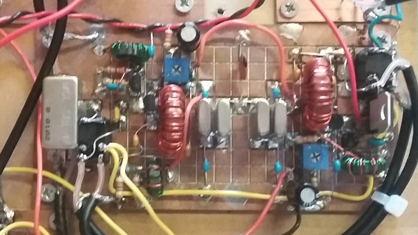 N6qw October 2017 Far Circuits Bitx20 Circuit Board Fabrication The If Block That Uses Relay Switching For Rx And Tx