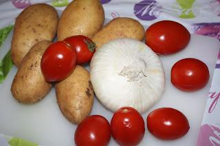 ingredienti teglia verdure estive