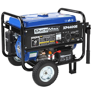 DuroMax XP4400E Portable Generator Electric