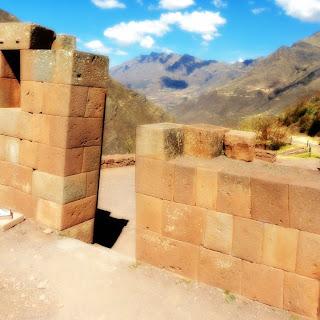 Construção de Pisac, no Vale Sagrado