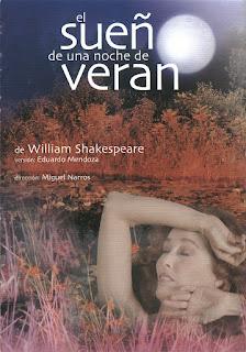 El sueño de una noche de verano / William Shakespeare; versión Eduardo Mendoza, dirección Miguel Narros.-- Madrid : Producciones Andrea D'Odrico, 2003.
