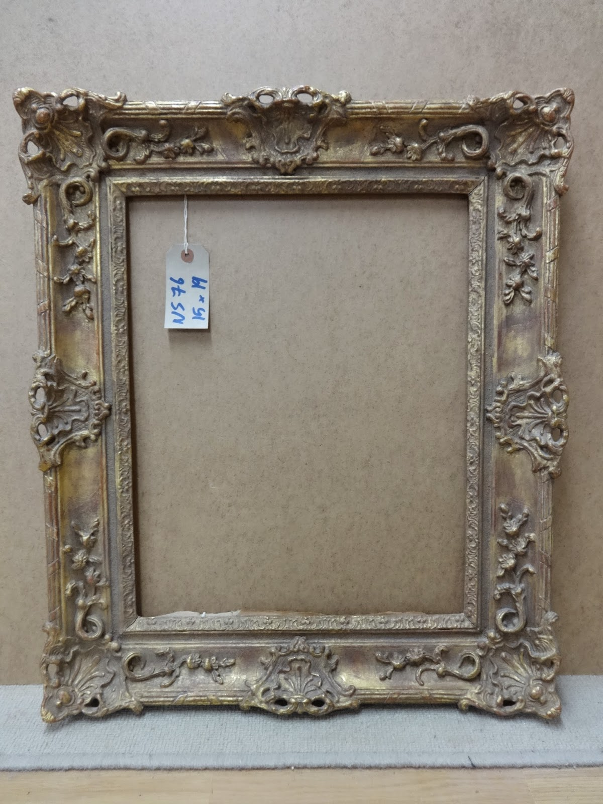 Antique Frame Sale: A Reproduction Louis XV Swept Frame