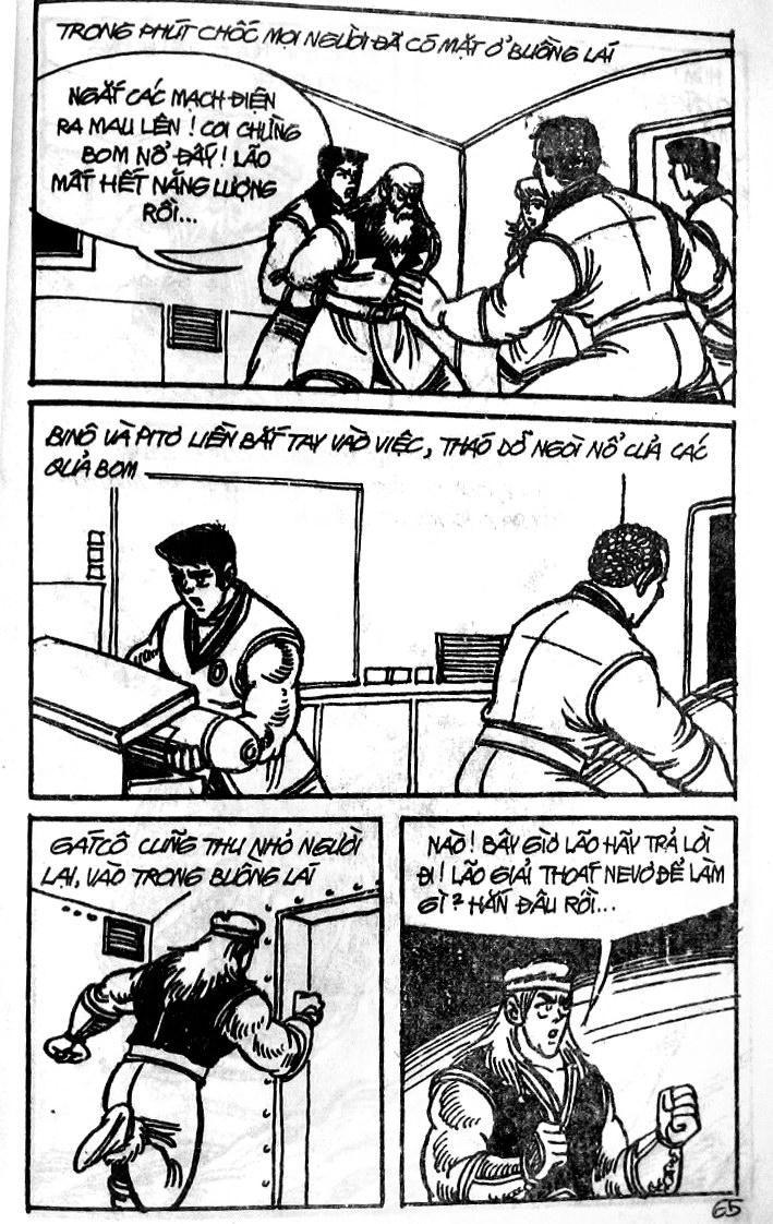 Dũng Sĩ Hesman tập 121 - chạy trốn tử thần trang 64