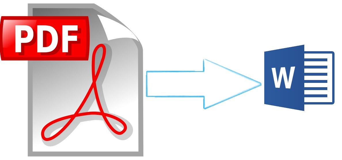 how to change secured pdf document to word