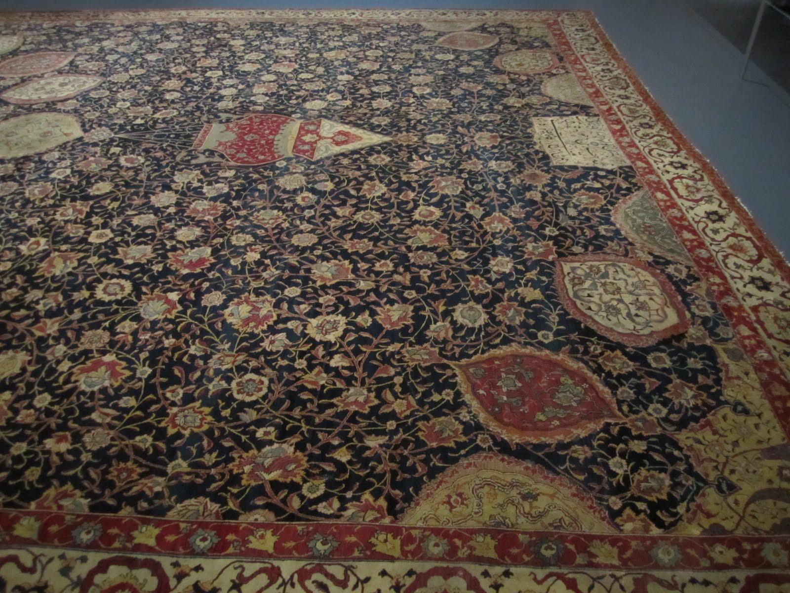 Ardabil Carpet: August 2011