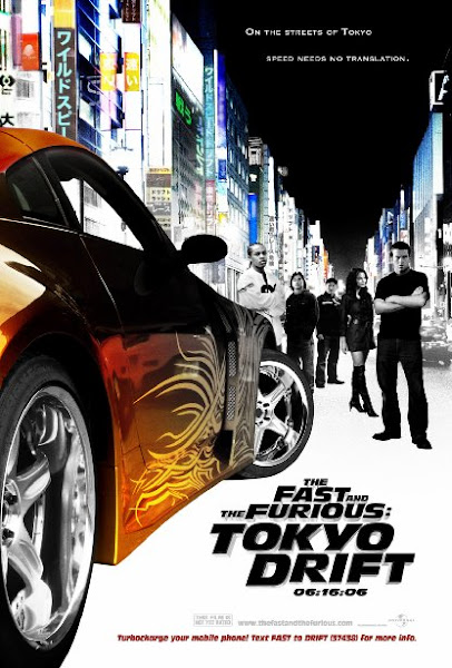 Poster of The Fast and the Furious Tokyo Drift 2006 Dual Audio 720p BluRay