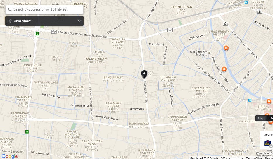 The Circle Ratchapruk Bangkok Map Tourist Attractions in Bangkok – Bangkok Tourist Attractions Map