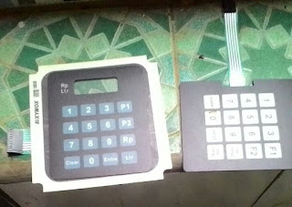 Keypad Mesin Pertamini Digital